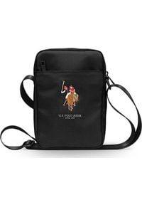 "U.S. Polo Assn - Torba U.S. Polo ASSN US Polo Torba USTB8PUGFLBK 8"" czarna /black. Kolor: czarny"
