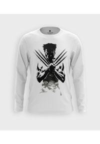 MegaKoszulki - Koszulka męska z dł. rękawem Man with claws. Materiał: bawełna