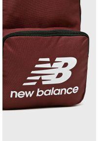 Brązowy plecak New Balance z nadrukiem