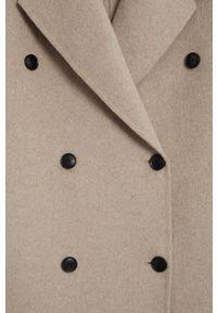 Szary płaszcz mango klasyczny, z klasycznym kołnierzykiem #7