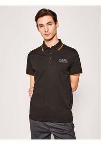 Czarna koszulka polo Karl Lagerfeld polo