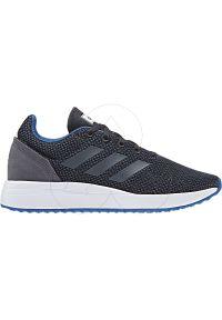 Buty sportowe Adidas wąskie, do biegania, z cholewką
