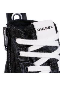 Czarne trampki Diesel