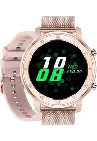 Smartwatch Pacific 17 Różowy (15560-uniw). Rodzaj zegarka: smartwatch. Kolor: różowy