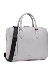 Szara torba na laptopa Puccini