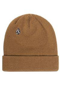 Brązowa czapka zimowa Volcom