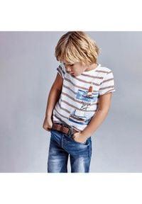 Mayoral Szorty jeansowe 3239 Granatowy Regular Fit. Kolor: niebieski. Materiał: jeans