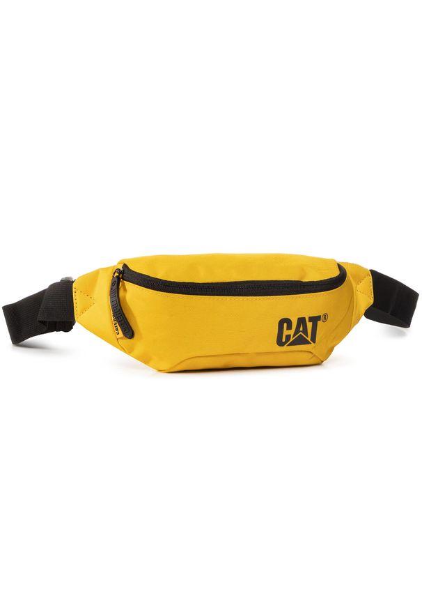 CATerpillar - Saszetka nerka CATERPILLAR - Waist Bag 83615-53 Yellow. Kolor: żółty. Materiał: materiał