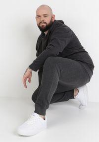 Szare spodnie dresowe Born2be #7