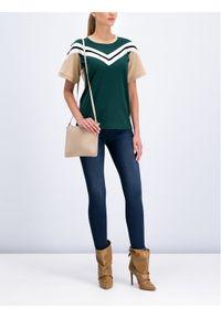Zielony t-shirt Patrizia Pepe