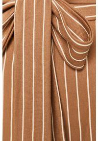 Beżowe spodnie materiałowe Haily's z podwyższonym stanem