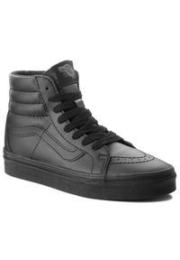 Czarne sneakersy Vans na co dzień, Vans Classic, z cholewką