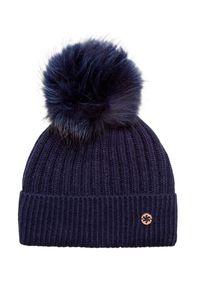 Niebieska czapka Granadilla w kolorowe wzory