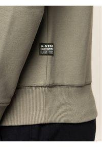 G-Star RAW - G-Star Raw Bluza Originals Logo Gr D16466-A612-2199 Zielony Regular Fit. Kolor: zielony