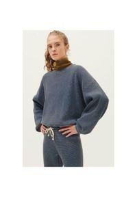 AMERICAN VINTAGE - Szara bluza American Vintage. Kolor: szary. Materiał: bawełna. Wzór: jednolity. Styl: vintage