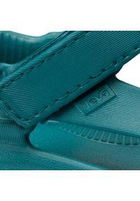 Zielone sandały Teva klasyczne, na lato