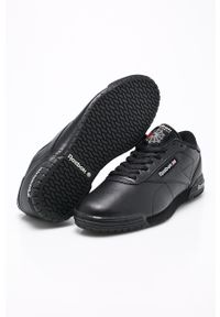 Czarne sneakersy Reebok Classic z cholewką, Reebok Classic
