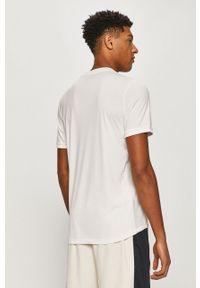 Biały t-shirt Tommy Sport sportowy, na co dzień, z nadrukiem