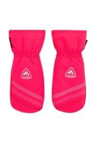 Rossignol - Rękawice narciarskie ROSSIGNOL - Jr Popy Impr M RLJYG06 Pink Fuchsia 374. Kolor: różowy. Materiał: poliester, materiał