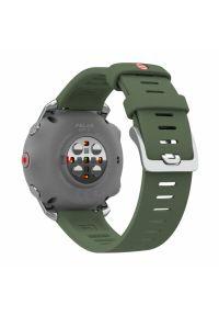 Zielony zegarek POLAR sportowy