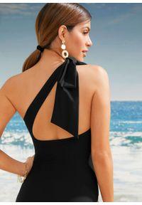 Kostium kąpielowy shape Level 1 bonprix czarny. Kolor: czarny