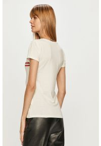 Morgan - T-shirt. Kolor: biały. Materiał: dzianina