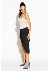 Czarna spódnica ołówkowa Dursi