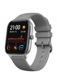 Huami - Smartwatch Amazfit GTS Szary (Lava Grey). Rodzaj zegarka: smartwatch. Kolor: szary. Styl: sportowy, klasyczny