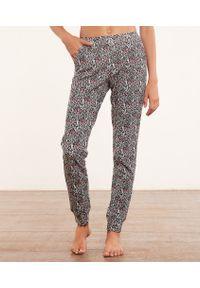 Ted Pantalon De Pyjama Imprimé - Czarny - Etam. Kolor: czarny. Materiał: bawełna
