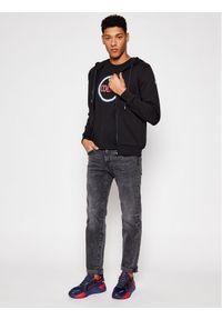 Colmar Bluza Casual 8270R 1SH Czarny Regular Fit. Okazja: na co dzień. Kolor: czarny. Styl: casual