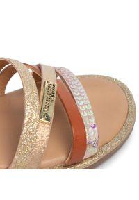 Brązowe sandały Les Tropeziennes casualowe, na co dzień