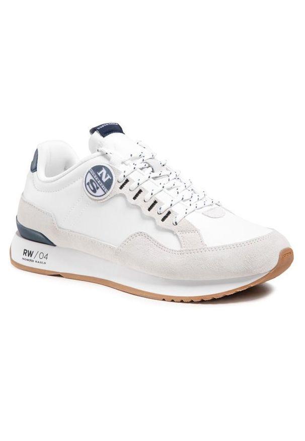 North Sails Sneakersy RW-04 First Biały. Kolor: biały