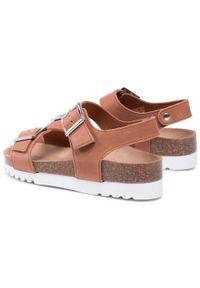 Brązowe sandały Scholl