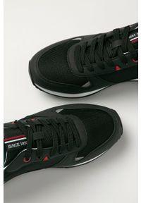 U.S. Polo Assn. - Buty. Nosek buta: okrągły. Zapięcie: sznurówki. Kolor: czarny. Materiał: syntetyk, skóra ekologiczna, guma, materiał. Szerokość cholewki: normalna #3