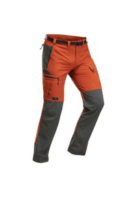 FORCLAZ - Spodnie trekkingowe męskie Forclaz TREK 500. Materiał: poliester, poliamid, materiał, elastan