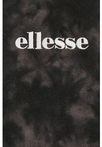 Szara bluza Ellesse z kapturem, z aplikacjami