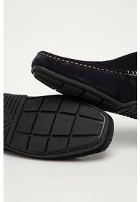 GANT - Gant - Mokasyny zamszowe Mc Bay. Nosek buta: okrągły. Kolor: niebieski. Materiał: zamsz