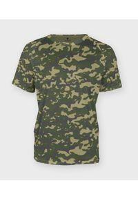 Zielony t-shirt MegaKoszulki moro