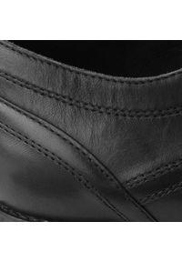 Badura - Półbuty BADURA - 7774 Czarny 147. Kolor: czarny. Materiał: skóra. Szerokość cholewki: normalna. Styl: wizytowy, klasyczny