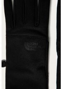 The North Face - Rękawiczki. Kolor: czarny. Materiał: dzianina. Wzór: gładki