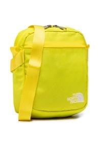 The North Face - Saszetka THE NORTH FACE - Conv Shoulder Bag NF0A3BXBP761 Tnflemon/Tnfwht. Kolor: żółty. Materiał: materiał