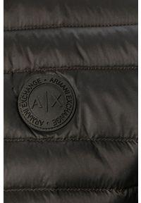 Czarna kamizelka Armani Exchange