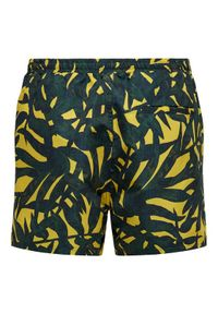 Only & Sons - ONLY & SONS Szorty kąpielowe Ted 22019094 Zielony Regular Fit. Kolor: zielony