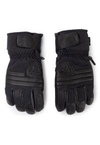 Czarna rękawiczka sportowa Ziener narciarska