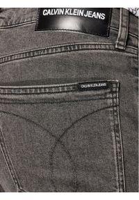 Calvin Klein Jeans Jeansy J30J307724911 Szary Skinny Fit. Kolor: szary