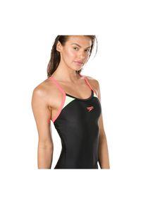 Strój kąpielowy damski Speedo Thinstrap Racerback 810837. Materiał: materiał. Wzór: gładki