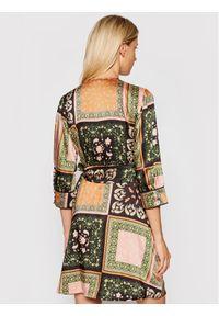 Marella Sukienka codzienna Riarso 32262218 Kolorowy Regular Fit. Okazja: na co dzień. Wzór: kolorowy. Typ sukienki: proste. Styl: casual