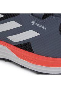 Czarne buty do biegania Adidas z cholewką, Adidas Terrex