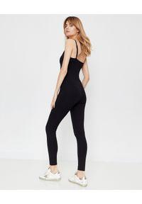 GIRLFRIEND COLLECTIVE - Czarny elastyczny kostium. Kolor: czarny. Materiał: tkanina, materiał. Długość: długie. Styl: klasyczny, sportowy