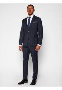Niebieski garnitur Oscar Jacobson